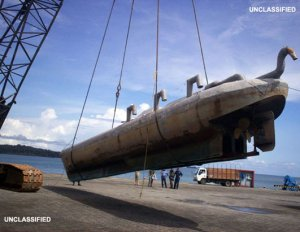 Drug Traffickers Are Building Submarines Like These in the Jungle (DEA Photo)