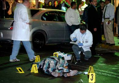 Police Commander Murdered in Mexico City