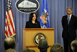 Attorney General Eric Holder and Acting DEA Adminsitrator Michele Leonhart Announce Results of Operation Excellerator