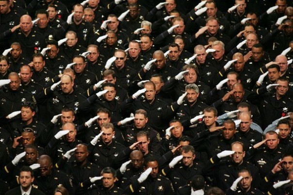 Funeral of Slain Oakland Police Officers