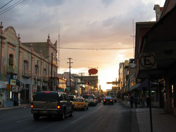 Peaceful View of Violence-Wracked Ciudad Juarez, Mexico