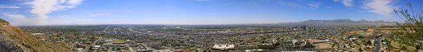 El Paso From The North -- Mexico Beyond (Wikimedia)