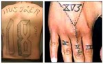 "!8th Street Tattoos Feature Number ""18"" Or Combinations That Add Up to 18"
