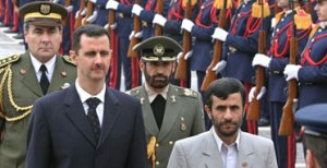 Friends of Theirs Number Two:  Ahmedinijad and Syria's Assad