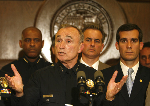 Gangbuster:  LAPD Chief William Bratton