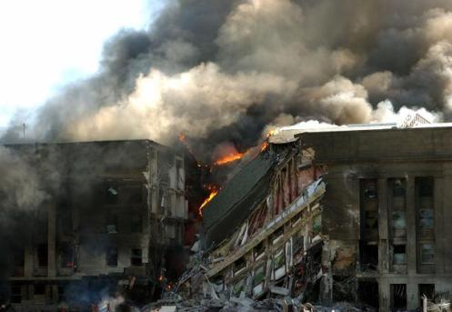 Pentagon, September 11, 2001 -- Never Forget, Never Forgive