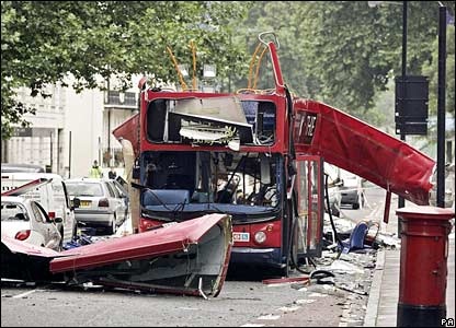 London Bus Bombing