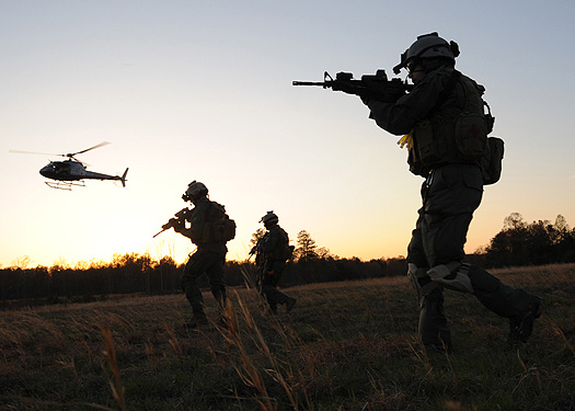 DEA Agents Training in 2008 For Deployment to Afghanistan