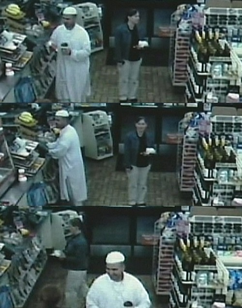 Major Malik Nidal Hasan Shops at Local Convenience Store