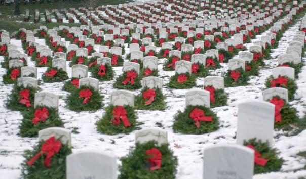 Christmas Wreaths at ANC